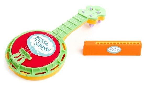 Пластмастер набор инструментов Банджо и гармошка