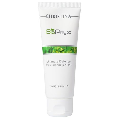 Christina Bio Phyto Ultimate Defense Day Cream SPF 20 Дневной крем для лица Абсолютная защита, 75 мл защитный дневной крем с spf 20 city defense daily cream spf 20 50 мл