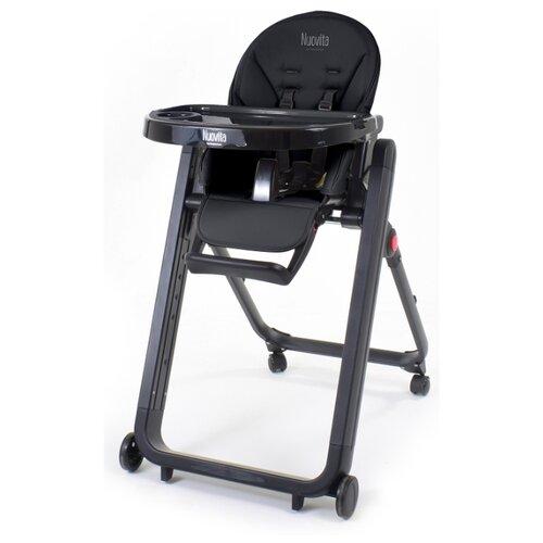 Купить Растущий стульчик Nuovita Futuro Senso Nero (Nero/Черный), Стульчики для кормления