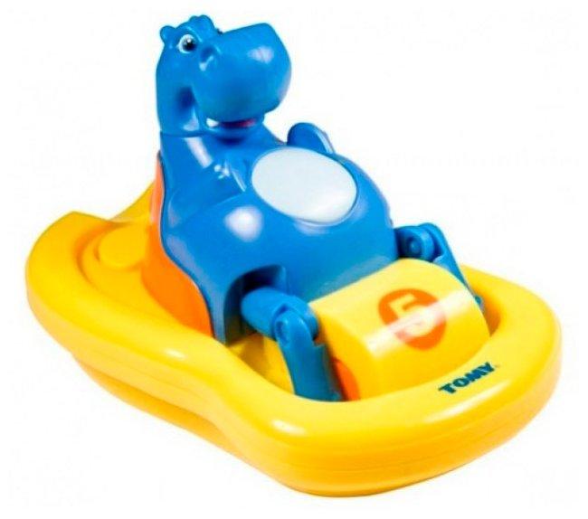 Игрушка для ванной Tomy Бегемотик на катамаране (E2161A1)