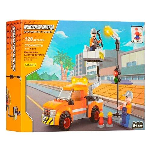 Конструктор Ausini Строители 29416 Инженерная бригада конструктор ausini строители 25623