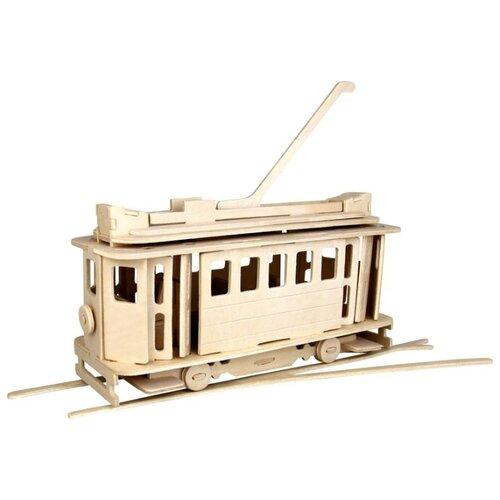 Сборная модель Чудо-Дерево Трамвай (80005) сборная модель чудо дерево кормушка 80099