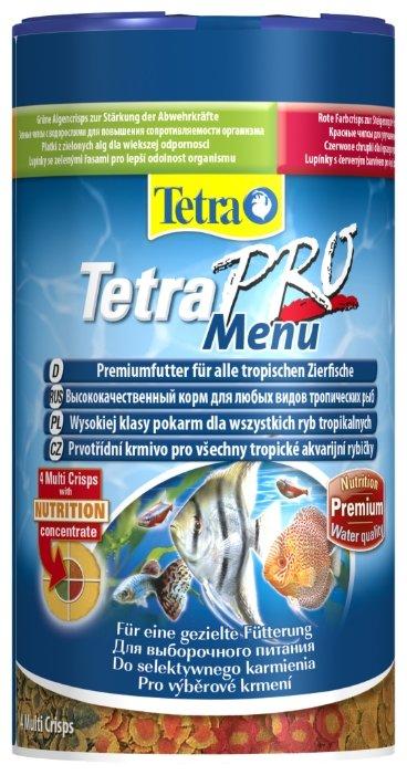 Сухой корм Tetra TetraPro Menu для рыб