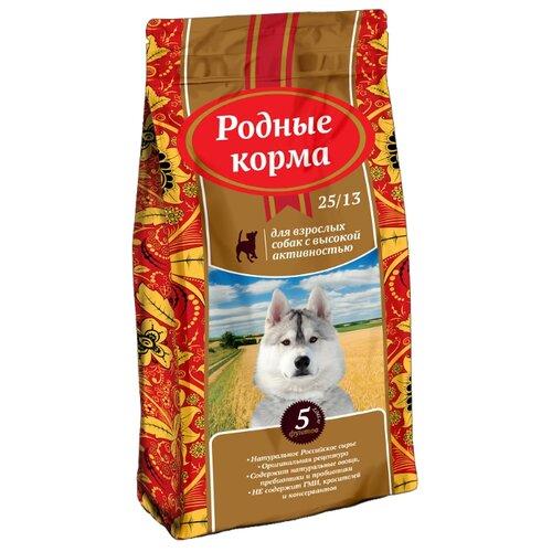 Корм для собак Родные корма (2.045 кг) Сухой для собак с высокой активностьюКорма для собак<br>