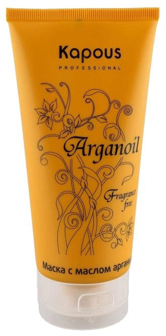 Kapous Professional Fragrance free Маска Arganoil для волос