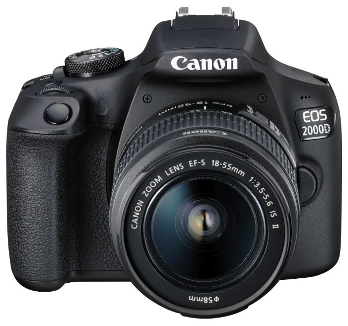 Canon Зеркальный фотоаппарат Canon EOS 2000D Kit