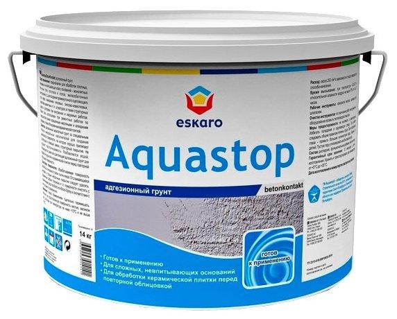 Грунтовка Eskaro Aquastop Betonkontakt (14 кг)