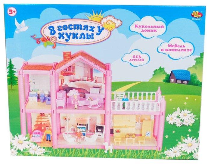 ABtoys кукольный домик