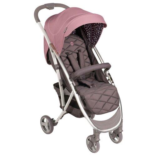 Фото - Прогулочная коляска Happy Baby Eleganza V2 pink, цвет шасси: серебристый happy baby ходунки happy baby smiley v2 brown