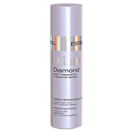 Estel Professional OTIUM DIAMOND Крем-термозащита для гладкости и блеска волос, 100 мл estel diamond масло драгоценное для гладкости и блеска волос 100 мл
