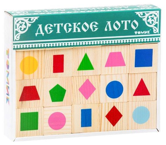 Настольная игра Томик Лото Геометрические фигуры