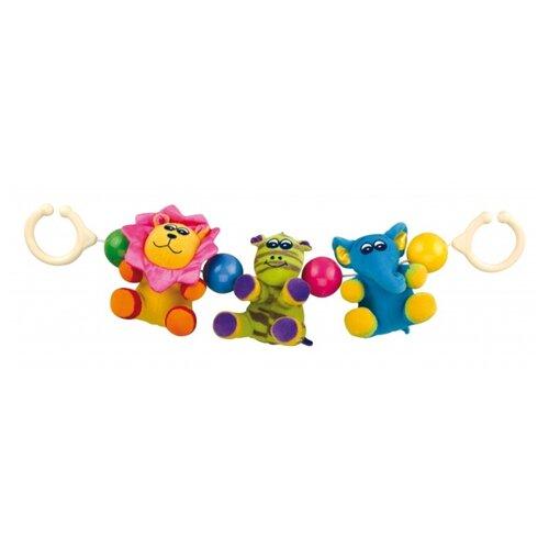 Купить Растяжка Canpol Babies Сафари (2/616) желтый/зеленый/голубой, Подвески