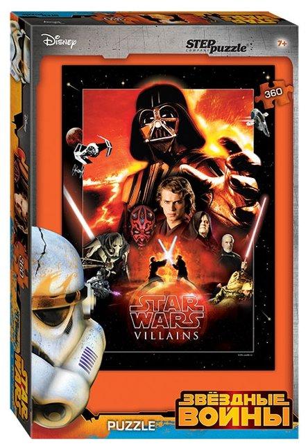 Пазл Step puzzle Disney Звёздные войны (96039), 360 дет.