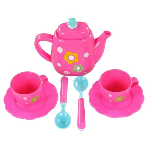 Набор посуды Yako Мини Мания - Чайный сервиз M6010 розовый