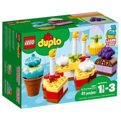 Купить Конструктор LEGO Duplo 10862 Мой первый праздник, Конструкторы