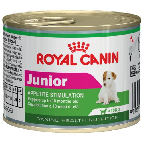 Влажный корм для щенков Royal Canin 195г (для мелких пород) cat wet food royal canin ultra light pieces in jelly 24 85 g cat wet food royal canin aging 12 pieces in jelly 85 g 24