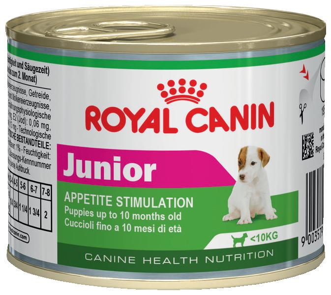 Корм для собак Royal Canin Junior Puppy сanine canned