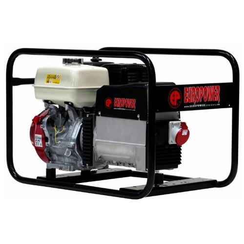 Бензиновый генератор EUROPOWER EP6500T (5200 Вт)