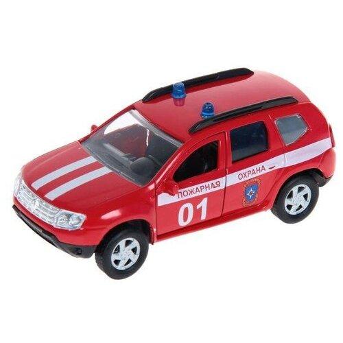 Купить Внедорожник Autotime (Autogrand) Renault Duster пожарная охрана (49493) 1:38 11 см красный / белый, Машинки и техника