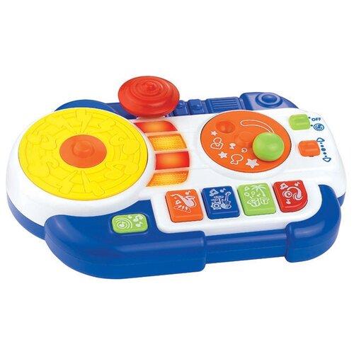 Купить HAP-P-KID музыкальный центр Диджейский пульт 4222T синий, Детские музыкальные инструменты
