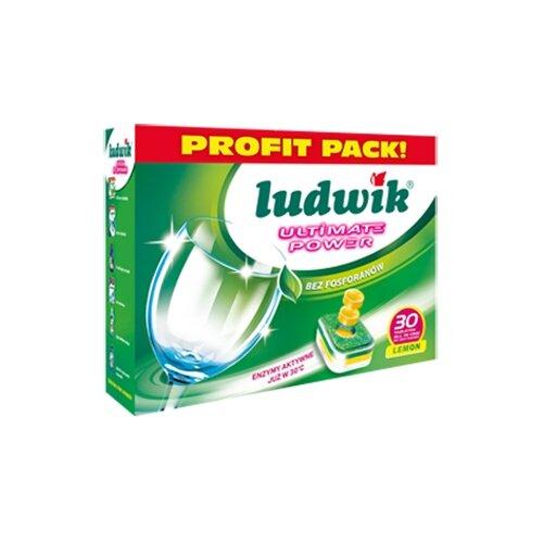 Таблетки для посудомоечной машины LUDWIK All in one таблетки, 30 шт. недорого