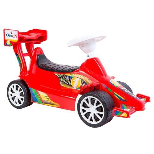 Купить Каталка-толокар Orion Toys Суперспорт (894) со звуковыми эффектами красный, Каталки и качалки