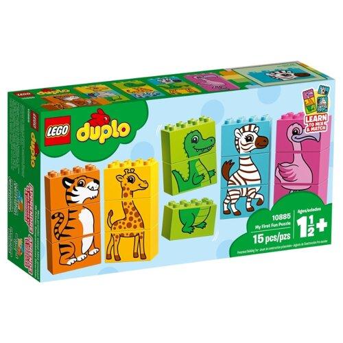 Купить Конструктор LEGO Duplo 10885 Мой первый пазл, Конструкторы