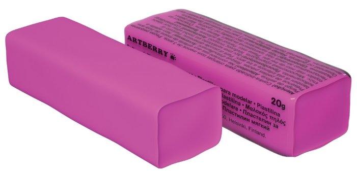 Пластилин ErichKrause Artberry розовый 20 г (37288)