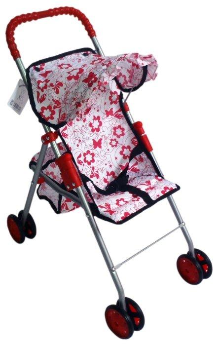 Прогулочная коляска 1 TOY Красотка Т57313