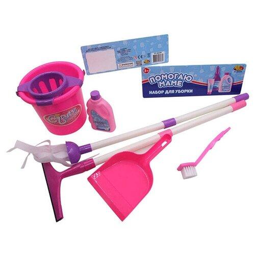 Набор ABtoys Помогаю маме PT-00349 розовый/фиолетовый/белыйДетские кухни и бытовая техника<br>