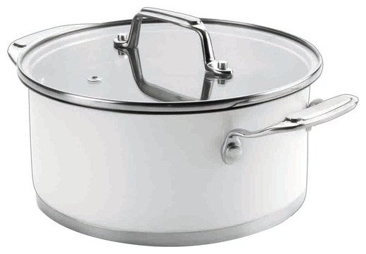 Кастрюля Lacor Cookware White 1,6 л