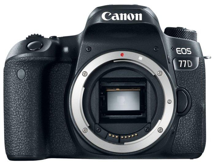 Canon Зеркальный фотоаппарат Canon EOS 77D Body