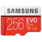 Карта памяти Samsung microSDXC EVO Plus 100MB/s + SD adapter