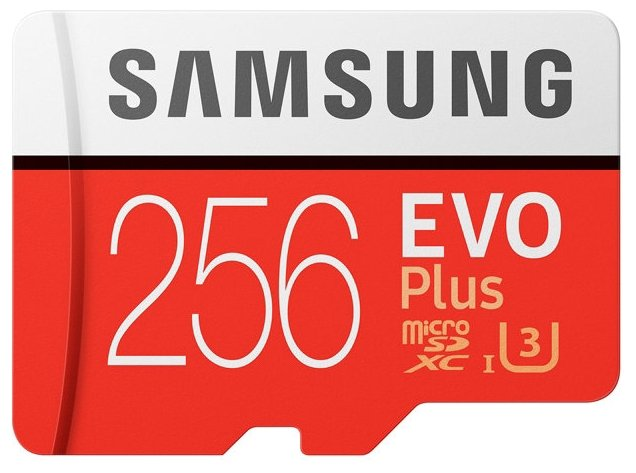 Samsung Карта памяти Samsung microSDXC EVO Plus 100MB/s + SD adapter
