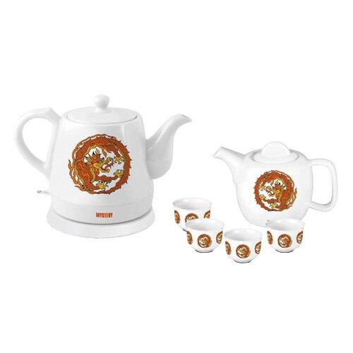 Чайник Mystery MEK-1624, white чайник mystery mek 1627