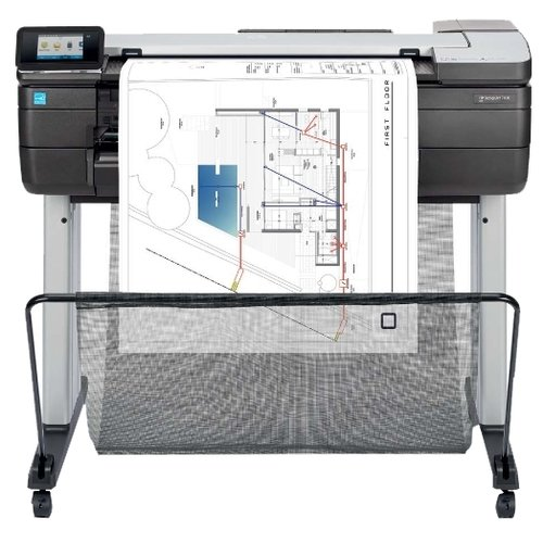 МФУ HP DesignJet T830 24-in Multifunction (F9A28A/F9A28D), серый