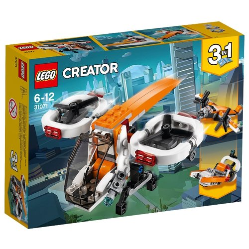 Фото - Конструктор LEGO Creator 31071 Дрон-разведчик конструктор creator lego lego mp002xb0085w