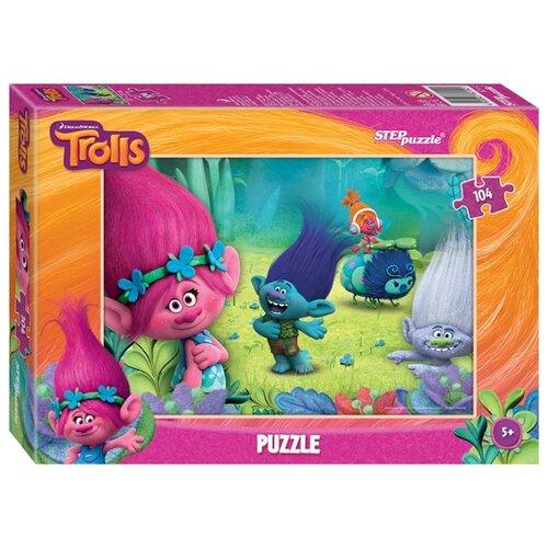 Пазл Step puzzle Dreamworks Trolls (82152), 104 дет. пазл step puzzle park