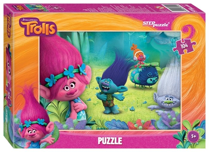 Пазл Step puzzle Dreamworks Trolls (82152), 104 дет.
