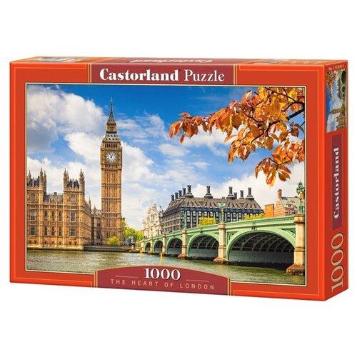 Купить Пазл Castorland The Heart of London (C-103096), 1000 дет., Пазлы