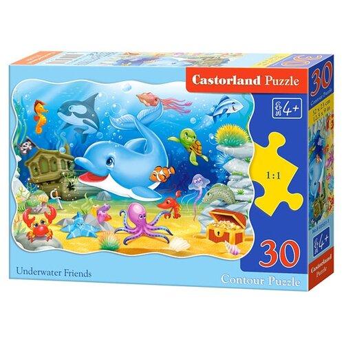 Купить Пазл Castorland Underwater Friends (B-03501), 30 дет., Пазлы