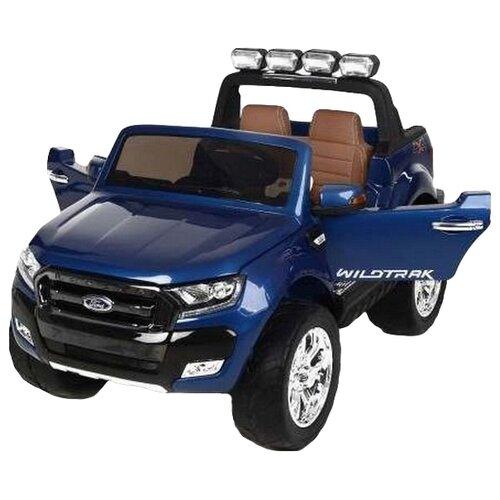 Купить RiverToys Автомобиль New Ford Ranger 4WD, лицензионная модель, синий глянец, Электромобили