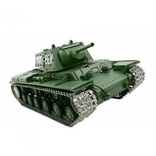 цена на Танк Heng Long KV-1 (3878-1PRO) 1:16 42.5 см зеленый