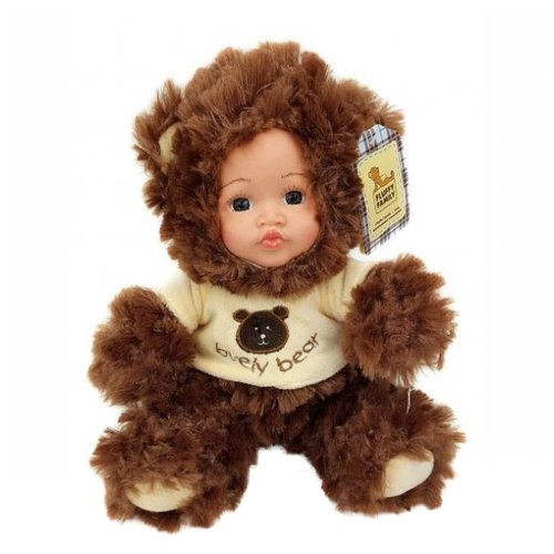 Мягкая игрушка Fluffy Family Мой мишка 20 см цена 2017