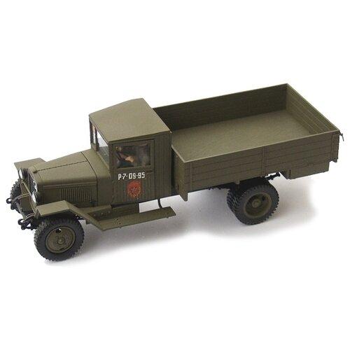 Сборная модель ZVEZDA Советский грузовой автомобиль ЗиС-5В (3529) 1:35 сборная модель zvezda советский грузовик 4 5 тонны зис 151 3541 1 35