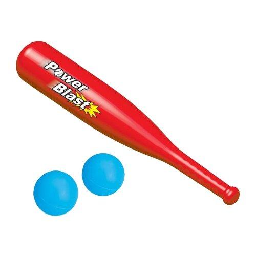 Купить Игровой набор Dolu бейсбольная бита с двумя мячиками (DL_6011), Спортивные игры и игрушки