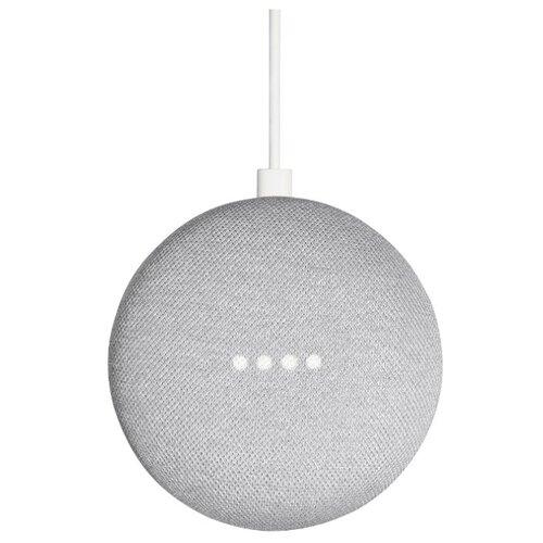Умная колонка Google Home Mini, chalk