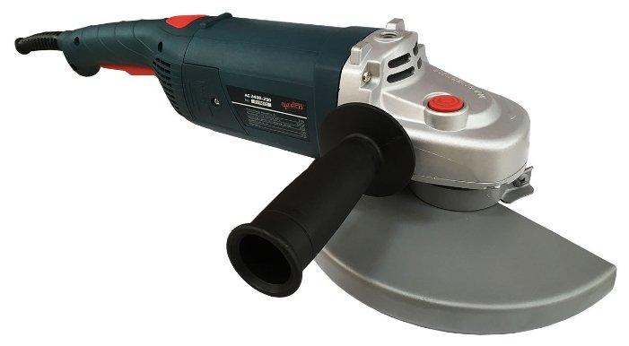 УШМ ALTECO AG 2400-230, 2400 Вт, 230 мм