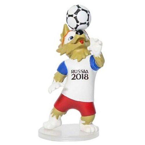Фигурка 1 TOY FIFA-2018 Волк Забивака Т11672 fifa 2018 мяч сувенирный забивака разноцветный