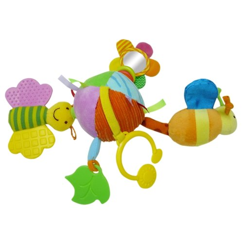 Купить Подвесная игрушка Biba Toys Волшебный мяч (GD036) желтый/зеленый, Подвески